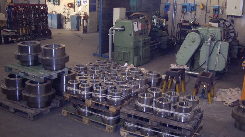 Reparto Saldature di Riporto in Bronzo Alluminio