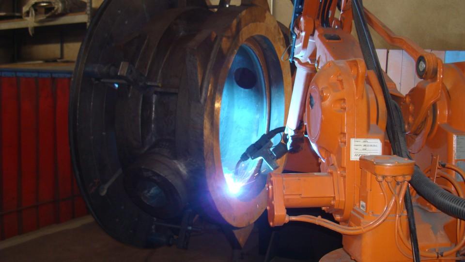 Overlay di valvole Bufferfly con impianto robotizzato